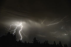 Mid Willamette Valley Thunderstorm Stock Photos