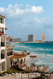 Mid Winter in Cancun Stock Photo