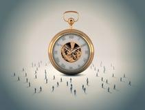 Mida el tiempo del concepto Imágenes de archivo libres de regalías