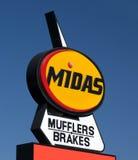 Midas Automotive Service facility Royalty Free Stock Photography