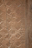 Midas Monument of Ancient Midas City in Yazilikaya Royalty Free Stock Photography