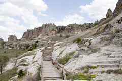Midas Monument of Ancient Midas City in Yazilikaya Stock Photography