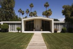 Midcentury Modern Architecture Stock Photos