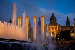 Middag in Barcelona royalty-vrije stock foto's