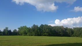 Middag sky& x27; s Royalty-vrije Stock Foto