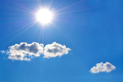 The midday sun Royalty Free Stock Photography