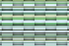 Midday texture with greenish lines. Architectural background with greenish lines and 3d shadows Stock Photos
