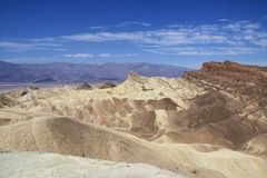 Midday at Zabriskie Point Royalty Free Stock Image