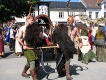 Middelalder-Festival stockbild
