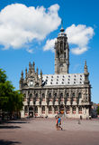 Middelburg city hall Royalty Free Stock Image