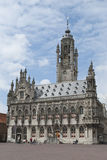 Middelburg city hall Stock Images