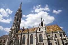 Middeleeuws Boedapest Stock Fotografie