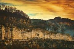 Middeleeuws Bolwerk Tsarevets royalty-vrije stock afbeelding