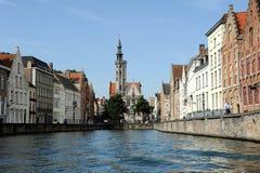 Middeleeuws Brugge Royalty-vrije Stock Foto's