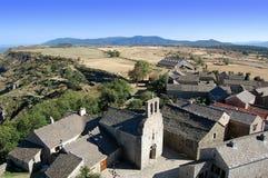 Middeleeuws dorp Royalty-vrije Stock Afbeelding