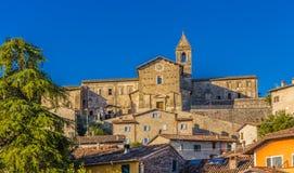 Middeleeuws dorp in Italië Royalty-vrije Stock Fotografie