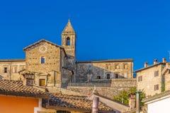 Middeleeuws dorp in Italië Royalty-vrije Stock Foto