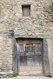 Middeleeuws dorp van Calatanazor in Soria royalty-vrije stock afbeeldingen