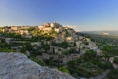 Middeleeuws dorp van Gordes in de Provence Royalty-vrije Stock Foto