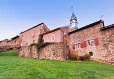 Middeleeuws Dorp van Yvoire, Frankrijk stock afbeelding