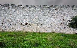 Middeleeuws erakasteel in Zuid-Europa Royalty-vrije Stock Afbeelding