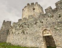 Middeleeuws erakasteel in Zuid-Europa Royalty-vrije Stock Foto's