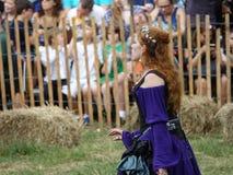 Middeleeuws Festival 27 van 2016 Stock Fotografie