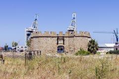 Middeleeuws fort Royalty-vrije Stock Afbeelding