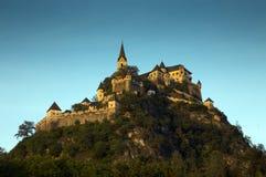 Middeleeuws Hochosterwitz-Kasteel, Carinthia, Oostenrijk Royalty-vrije Stock Foto's