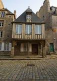 Middeleeuws huis stock afbeelding