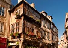 Middeleeuws huis Royalty-vrije Stock Afbeelding