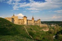Middeleeuws kasteel stock afbeelding