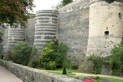 Middeleeuws kasteel. stock foto's