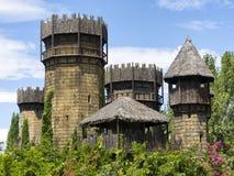 Middeleeuws kasteel royalty-vrije stock afbeelding