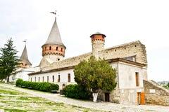 Middeleeuws kasteel stock foto