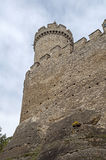 Middeleeuws kasteel Royalty-vrije Stock Foto
