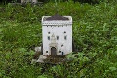 Middeleeuws kasteel Stock Foto's