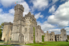 Middeleeuws kasteel Ashford Royalty-vrije Stock Foto