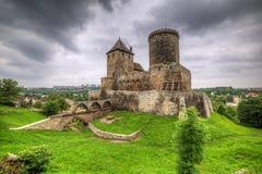 Middeleeuws kasteel in Bedzin stock foto