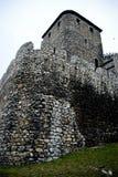 Middeleeuws kasteel in Bedzin, Polen royalty-vrije stock fotografie