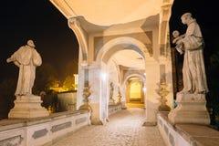 Middeleeuws kasteel in Cesky Krumlov, Tsjechische republiek Unesco-Wereld H royalty-vrije stock afbeeldingen
