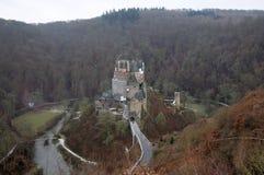 Middeleeuws Kasteel Eltz in Duitsland royalty-vrije stock fotografie