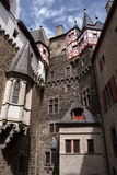 Middeleeuws kasteel Eltz duitsland Stock Afbeelding