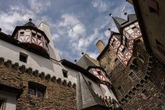 Middeleeuws kasteel Eltz duitsland Royalty-vrije Stock Foto