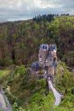 Middeleeuws kasteel Eltz duitsland royalty-vrije stock fotografie