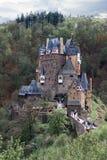Middeleeuws kasteel Eltz duitsland Stock Foto's