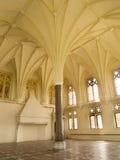 Middeleeuws kasteel in Malbork stock foto