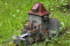 Middeleeuws kasteel mini Royalty-vrije Stock Afbeeldingen