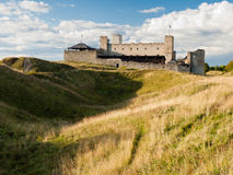 Middeleeuws kasteel in Rakvere Stock Foto's