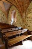 Middeleeuws kasteel in Trakai, de eerste hoofdstad van Litouwen royalty-vrije stock foto's